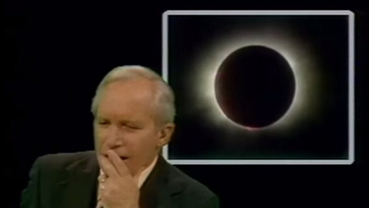 1979 Presenter Announcing The 2017 Eclipse Wasn't Even Close