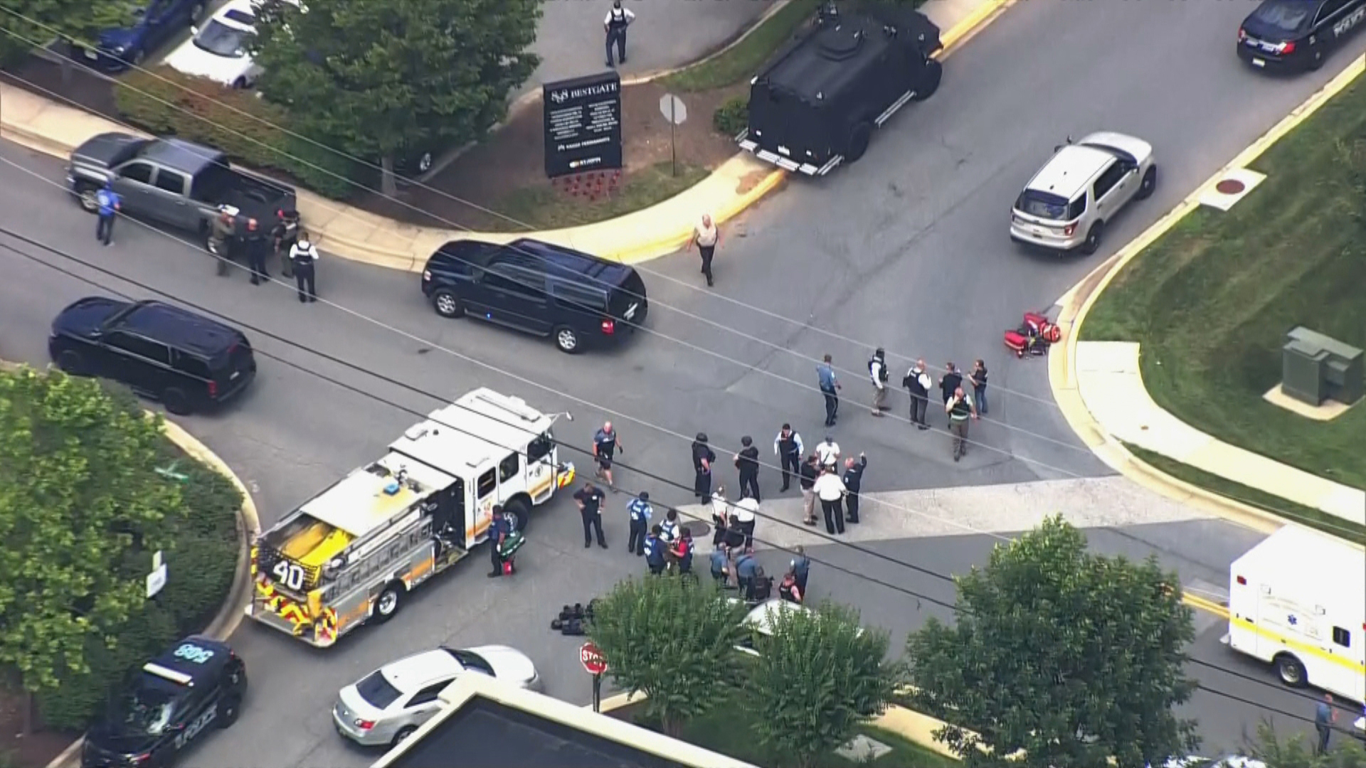 Capital-Gazette Shooting  in Annapolis