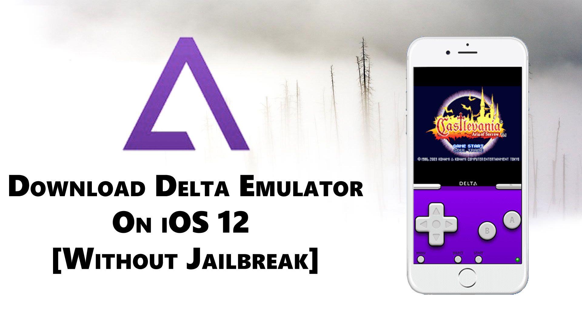 Delta Emulator IOS App Download For IPhone, IPad & TvOS