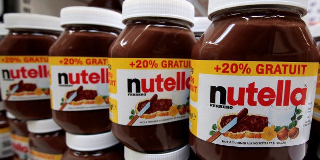 20 tonnes of Nutella and Kinder Surprises  stolen in Germany